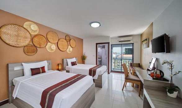 Thai farmer room concept