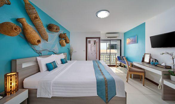 Thai fisherman room concept